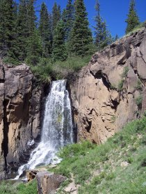 South Clear Creek Falls, Colorado
