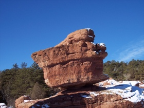 GC2QQGY The Amazing Balanced Rock (Earthcache) in Colorado, United