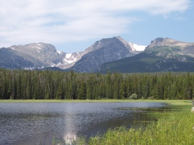 Bierstadt Lake, Colorado, Rocky Mountain National Park