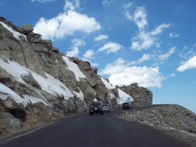 Driving Mount Evans Scenic Byway