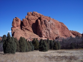 Along the Perkins Central Garden trail, Garden of the Gods