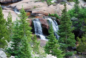 Hagerman Pass waterfall, Colorado