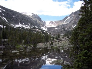 Lake Haiyaha trail, Rocky Mountain National Park