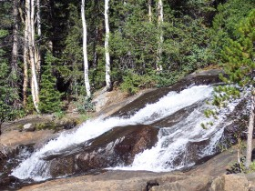Lost Lake Trail cascades, Colorado
