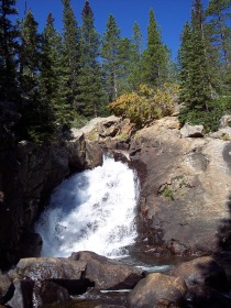 Lost Lake Trail waterfall, Colorado