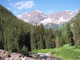 Maroon Bells, Colorado.