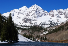 Maroon Bells Spring, Colorado