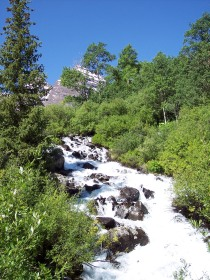 Maroon Bells waterfall, Colorado
