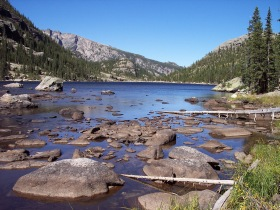 Mills Lake, Rocky Mountain National Park