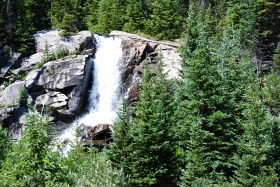 Missouri Creek waterfall, Colorado