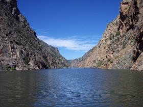 Morrow Point reservoir, Colorado