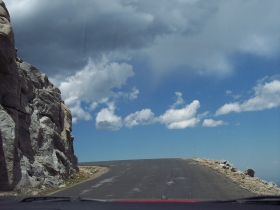 Mount Evans Scenic Byway curve