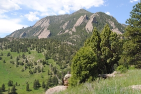 Scenery along the W.O. Roberts trail near NCAR