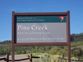 Pine Creek sign
