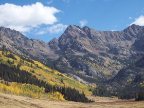 Piney River Falls hike, during fall colors