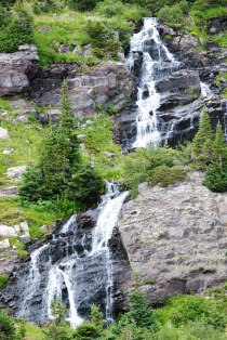 Robinson Basin waterfall, near Crested Butte, Colorado