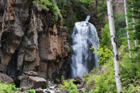 Rough Creek Falls, Colorado