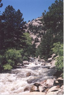 North St. Vrain Creek, Colorado
