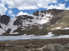 Summit Lake, Mount Evans