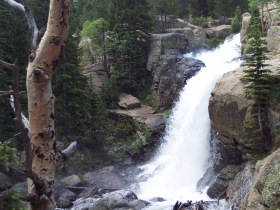 Alberta Falls, Rocky Mountain National Park