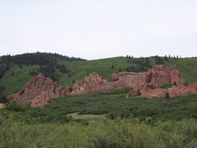 Willow Creek trail scenery