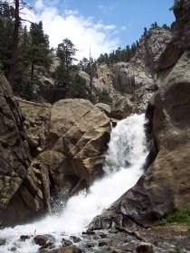 Boulder Falls, just outside of Boulder, Colorado