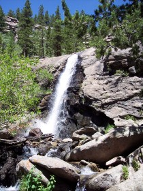 Bridal Veil Falls, Rocky Mountain National Park
