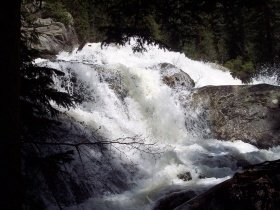 Cascade Falls, Rocky Mountain National Park