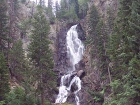 Fish Creek Falls, Colorado