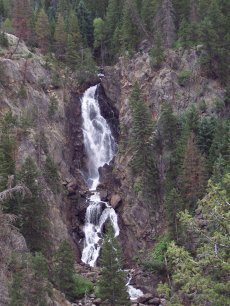 Fish Creek Falls, Steamboat Springs, Colorado