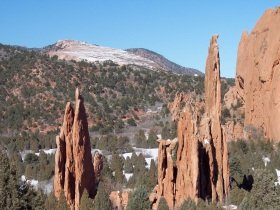 Along the Upper Loop trail, Garden of the Gods