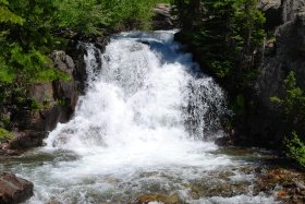 Gold Creek Waterfall, Colorado