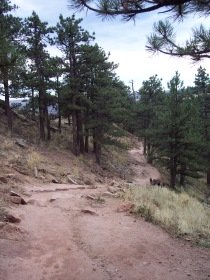 Mt. Sanitas trail, Boulder, Colorado