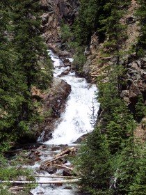 Upper Booth Creek Falls, Colorado