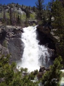 Upper Fish Creek Falls, Colorado