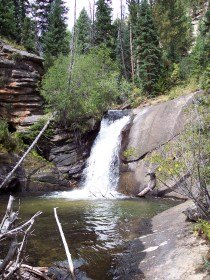 West Creek Falls, Rocky Mountain National Park
